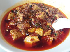 Hot and Spicy Mapo Tofu @Shunxing Restaruant, Shanghai (Phreddie) Tags: china food hot lunch restaurant yum shanghai chinese delicious eat szechuan spicy sichuan shunxing