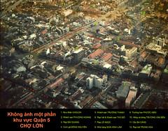 1968 - Không ảnh một phần Khu vực Q5 CHỢ LỚN (manhhai) Tags: