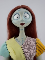 Sally Limited Edition 18'' Doll - Disney Store Purchase (2011) - On Display Stand - Portrait Front View (drj1828) Tags: standing doll sally resin purchase limitededition disneystore thenightmarebeforechristmas poseable 18inch deboxed