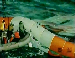 Orion Parachute Recovery
