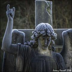 Frosted Angel 2 (zolaczakl) Tags: uk winter england sculpture cemetery grave graveyard bristol frost december victorian statues angels gravestones 2014 arnosvalecemetery arnosvale nikond7100 photographybyjeremyfennell decemberinarnosvalecemetery gradeiiregistered