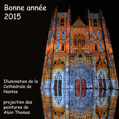 Happy new year 2015 (rogermarcel) Tags: cathedral cathédrale happynewyear 2015 bonneannée eos5dmarkii rogermarcel
