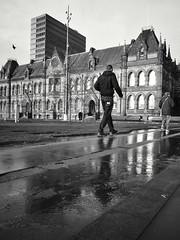 Town Hall (mycoil) Tags: street city urban blackandwhite bw lumix middlesbrough 14mm olympusepm2