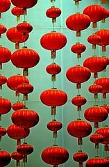 float (Breboen) Tags: china red lamps oriental rood lampion shangai