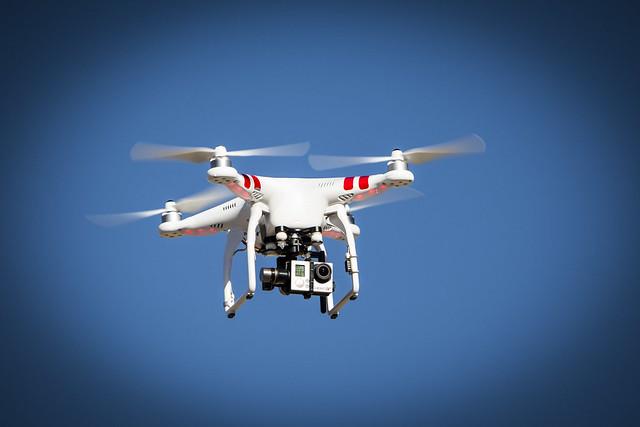 drone dji gopro quadrocopter