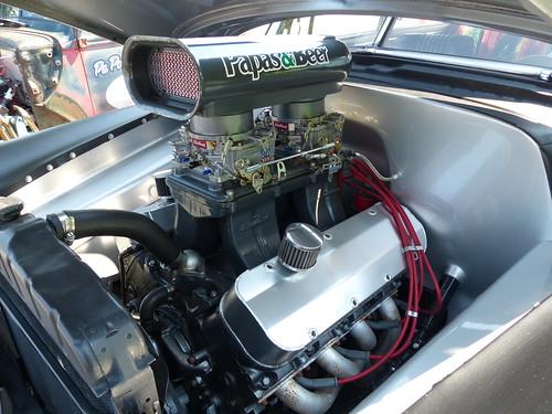 1949 Chevrolet POWER (bballchico) Tags: 1949 chevrolet fleetline streetrod marknichols ratbastardscarshow engine ratbastardsinfestationcarshow 2014 206 washingtonstate