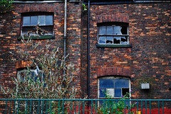 Abandoned Building. (Infinity & Beyond Photography) Tags: old windows red building brick abandoned broken manchester industrial warehouse age