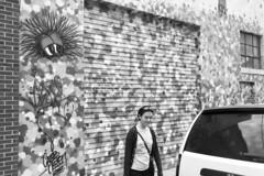 Streets of Somerville (crichgraphics) Tags: street blackandwhite bw white black art monochrome photography graffiti paint massachusetts monochromatic somerville