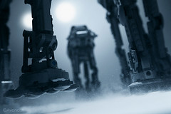 Three Kings (Avanaut) Tags: snow cold ice night toy starwars lego walker atat hoth theempirestrikesback toyphotography