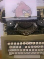 Angry Birds (elartistadelamaquinadeescribir) Tags: birds de arte artesanias angry dibujo diseo