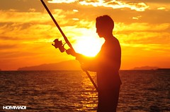 Fishing Time (Mohammed Hommadi   ) Tags: sunset sun fish fishing mohamad      hommadi
