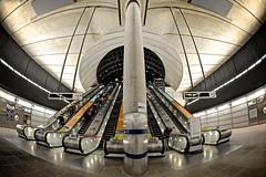 Canary Wharf Underground Station (Jutiar) Tags: nikon londonunderground canarywharf thetube londonist canarywharfundergroundstation nikond700 londonphotographer jutiar jutiarsalman jutiarphotography jutiarphoto