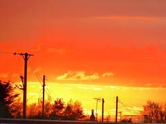 Aldbrough sun set. (6m views. Please follow my work.) Tags: uk sunset red england sky sun sex google nikon flickr yorkshire gb hull eastcoast flickrcom eastyorkshire googleimages nikond3200 mamf aldbrough hu11 mamfphotography