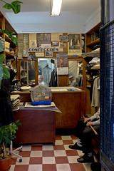 Bird Cage_DSF1627 (jonwaz) Tags: street portugal shop lisboa streetlife retro clothes calender contact canary alfama canrio confeces cage shop bird fujix10 jonwaz clothes