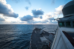 USS Donald Cook transits the Black Sea. (Official U.S. Navy Imagery) Tags: blacksea operationatlanticresolveussdonaldcookddg75