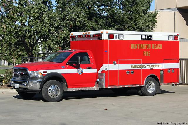 huntingtonbeachfiredepartment huntingtonbeachfireemergencytransport45 huntingtonbeachfireet45
