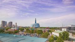 The Forks @ Winnipeg (jennchanphotography) Tags: city red vacation canada tourism buildings river winnipeg landmark tourist manitoba forks iconic jennchanphotography
