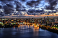 Recife top view