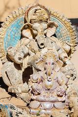 Zoltan Papdi 2015-1469 (Papdi Zoltan Silvester) Tags: portrait india statue ganesh figure pushkar rajasthan dieu inde adoration lphant idole