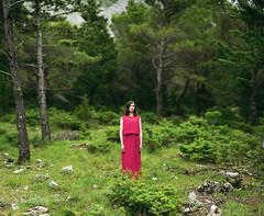 *** (shadobb) Tags: travel trees summer green girl beauty forest canon europe bokeh sony croatia biokovo canonfd canon85mmf12 canon8512 a7s bokehrama canonfdn85mmf12 sonya7s