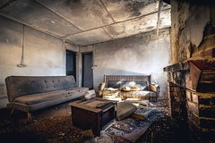 We don't need no water, let the motherf***er burn.... (Scott McCarten) Tags: abandoned urbanexploration adelaide derelict urbex adelaidehills
