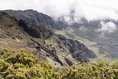 Clouds In the Ko'olau Gap (rschnaible) Tags: park usa mountains landscape hawaii us tour pacific outdoor sightseeing gap maui tourist koolau national haleakala tropical tropics rugged
