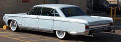 1964 Oldsmobile 98 (jmaxtours) Tags: blue classic car sedan classiccar mississauga olds 1964 ninetyeight portcredit mississaugaontario portcreditontario olds98 1964oldsmobile98
