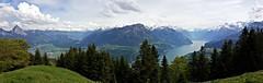 Vierwaldstttersee (elke_keller) Tags: panorama lake mountains landscape lago schweiz switzerland suisse suiza lac berge explore monte svizzera landschaft vierwaldstttersee schwyz mountainscape urmiberg gottertli