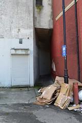 Sandbed Street, Kilmarnock. No Name Lane. (Phineas Redux) Tags: scotland kilmarnock streetscenes ayrshire narrowlanes ayrshirescenes nonamelanekilmarnock sandbedstreetkilmarnock