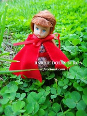 Madame #Alexander Little Red Riding Hood (Barbie dolls by RCA) Tags: red madame doll little mini riding hood alexander