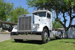 IMG_2789 (RyanP77) Tags: show california b white truck log model shiny trucker international chevy chrome r pete logger gmc peerless kw peterbilt ih kenworth cabover bullnose fruehauf