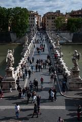 Ponte Sant'Angelo, Roma (Nakazuchi) Tags: roma vaticano sanpietro pontesantangelo