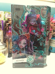 Thanks mom! (dolldudemeow24) Tags: monster high doll jane bloom and gloom boxed 2016 boolittle
