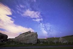 Milky Way From a Big Rock (John Andersen (JPAndersen images)) Tags: bigrock glacial albera