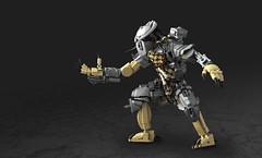 Predator (Legopard) Tags: lego mask amor character bricks alien hunter predator creature brickbuilt yautja legopard