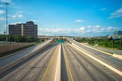 Dallas' High Five Interchange (michael spear hawkins) Tags: dallas texas tx sony manualfocus a7 214 canonfd 24mmf14 mirrorless nd10 dtx sonya7 leebigstopper canonfd24mmf14