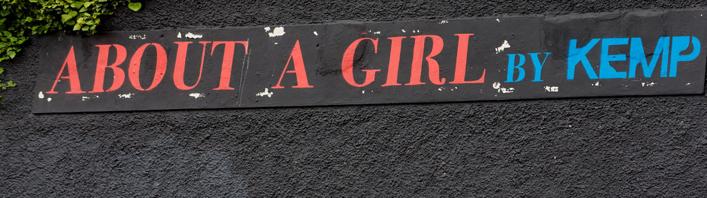 ABOUT A GIRL BY KEMP [WATERFORD WALLS PROJECT AT NEWGATE STREET]-116355