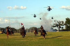 150611-A-WD324-001 (1st Cavalry Division) Tags: horses army us apache texas unitedstates formation blackhawk helicopters chinook epic ch47 uh60 ah64 forthood hooah 1stcav 1stcavalrydivision firstteam cooperfield 1cd horsecavalrydetachment cavcharge