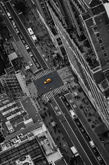 Taxi (stephane_p) Tags: blackandwhite bw newyork blackwhite noiretblanc taxi nb noirblanc selectivecolor
