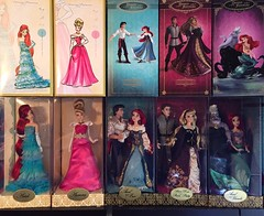 Ariel/Aurora Designer Baes Collection (Richard Zimmons) Tags: sleeping beauty store doll princess little designer disney mermaid limited edition collector dfdc