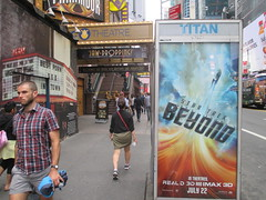 Star Trek Beyond Poster Billboard Phone Booth AD 2016 NYC 1900 (Brechtbug) Tags: show street new york city nyc fiction film television st trek booth movie poster star tv jj theater phone mr theatre near manhattan district space rip ad broadway science billboard midtown sidewalk ave captain spock scifi series beyond anton 1960s avenue abrams 7th futuristic kirk 42nd 2016 standee standees yelchin 06282016