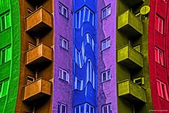 Squeezed blue (Paweł Szczepański) Tags: katowice śląskie poland pl sal70200g extraordinarilyimpressive express yourself expressyourself shockofthenew