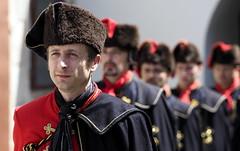 Croatian Guardsmen (RJAB2012) Tags: soldier croatia 100v10f zagreb guards regiment kravat