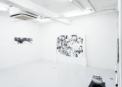 "Mayko Nakamura solo show "" One equals Two equals One (II) "" at Gallery Hinoki BC, Kyobashi, Tokyo"