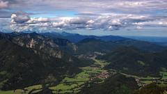 Wendelstein (joseph_donnelly) Tags: sky mountain berg clouds germany bayern deutschland bavaria view wolken valley tal wendelstein