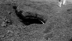 una terra che cova .... (leti zacca) Tags: travel trekking lava neve nebbia etna viaggio sicilia vulcano seme silone scalata quota covare