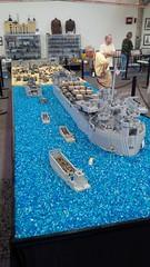 World War Brick Minneapolis 2016 (Swoosh Factor) Tags: lego brickmania brickarms gi brick world war
