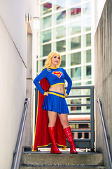 SP_44480 (Patcave) Tags: momocon momocon2016 2016 convention cosplay costumes cosplayers portrait shoot shot canon 1740mm f4 sigma 85mm f14 lens patcave 5d3 atlanta georgia world congress center outdoors hot humid dc comics supergirl maid might
