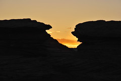 lakepowellbeaches_239 (Sascha G Photography) Tags: sunset arizona beach nature landscape march nikon scenery rocks desert hiking hike beaches lakepowell rockformation d60