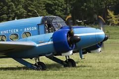 Avro Anson Nineteen - 1 (NickJ 1972) Tags: fly aviation navy collection airshow anson shuttleworth nineteen avro 2016 oldwarden gahkx